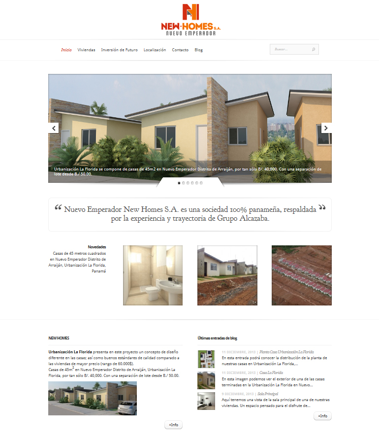 web new homes
