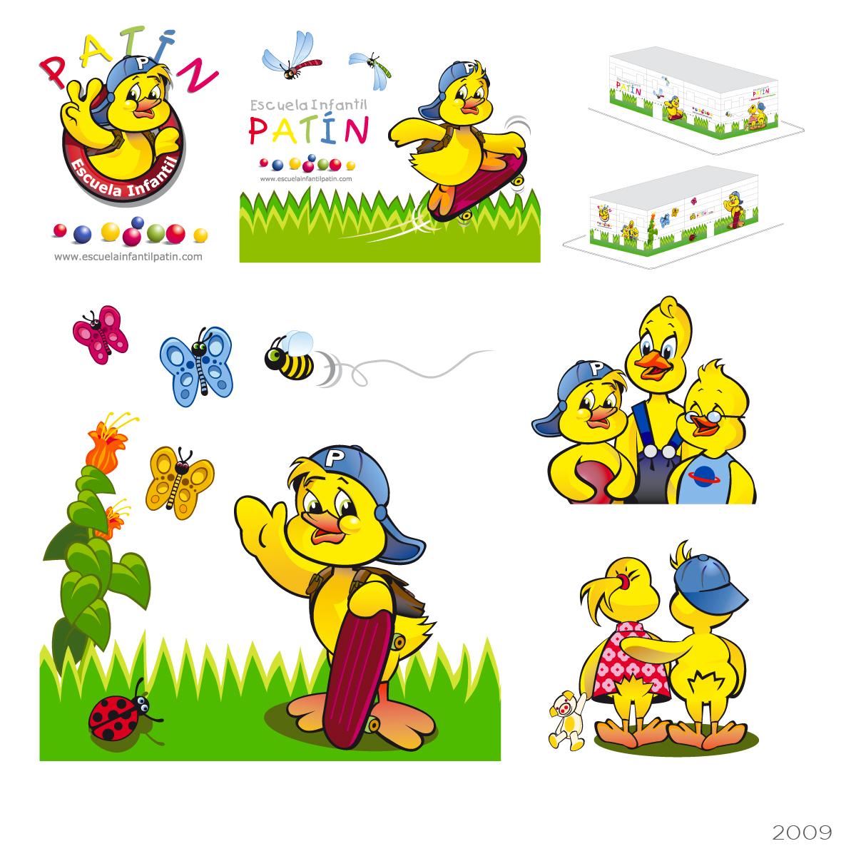 Ilustraciones Escuela Infantil
