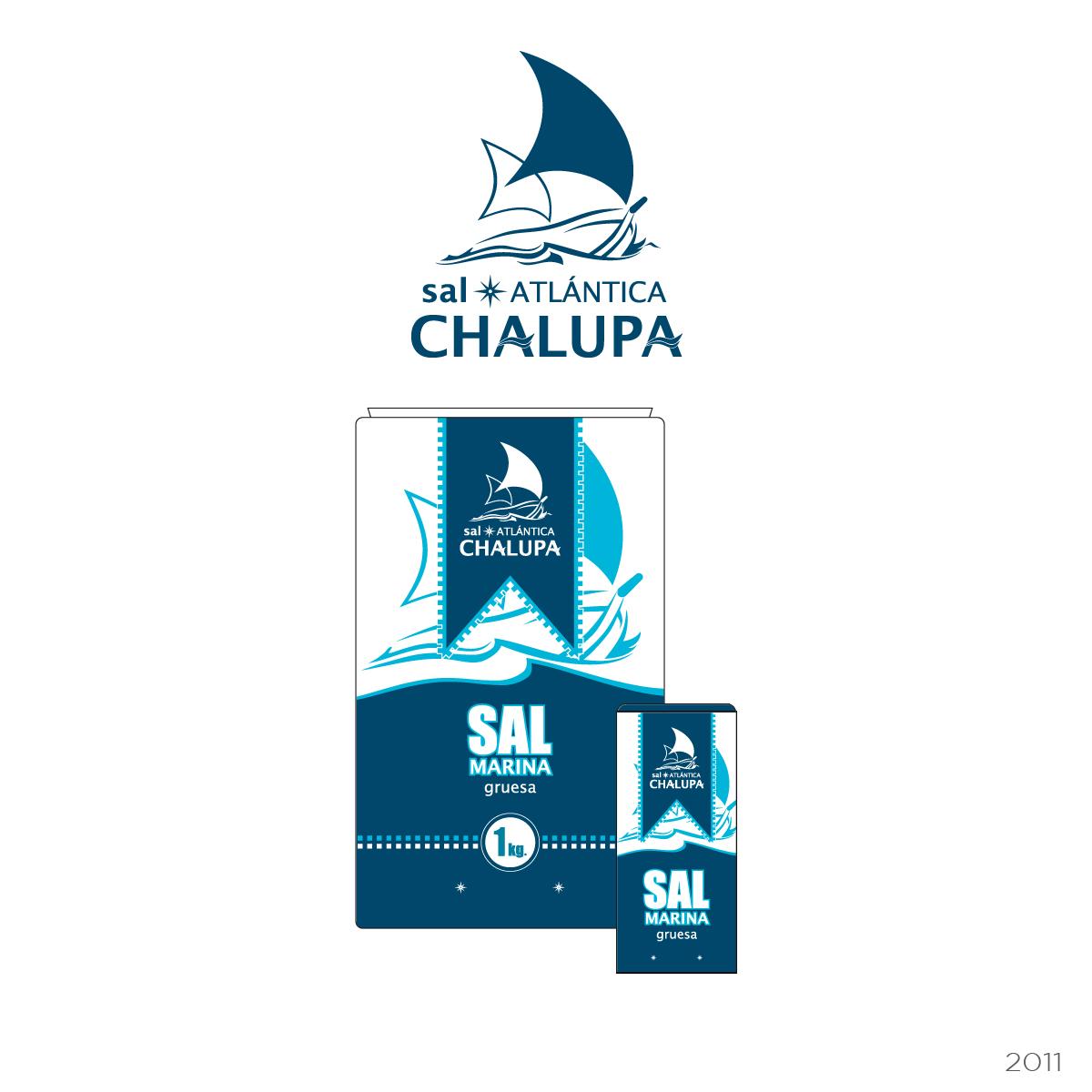 Packaging para marca de sal marina