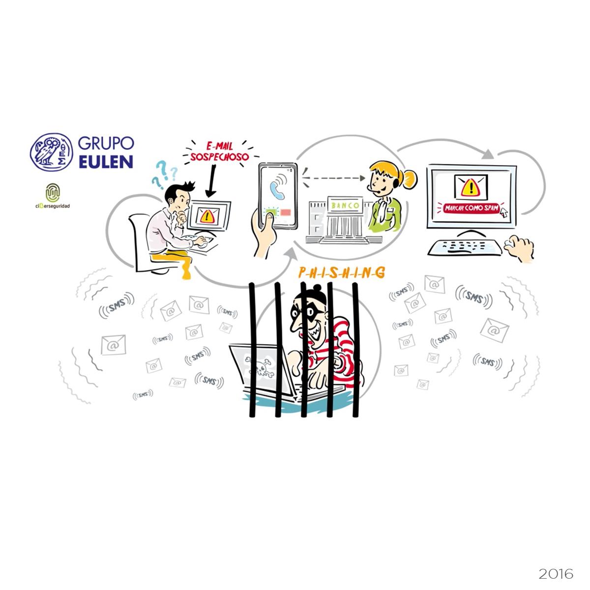 Ilustraciones empresa de servicios múltiples