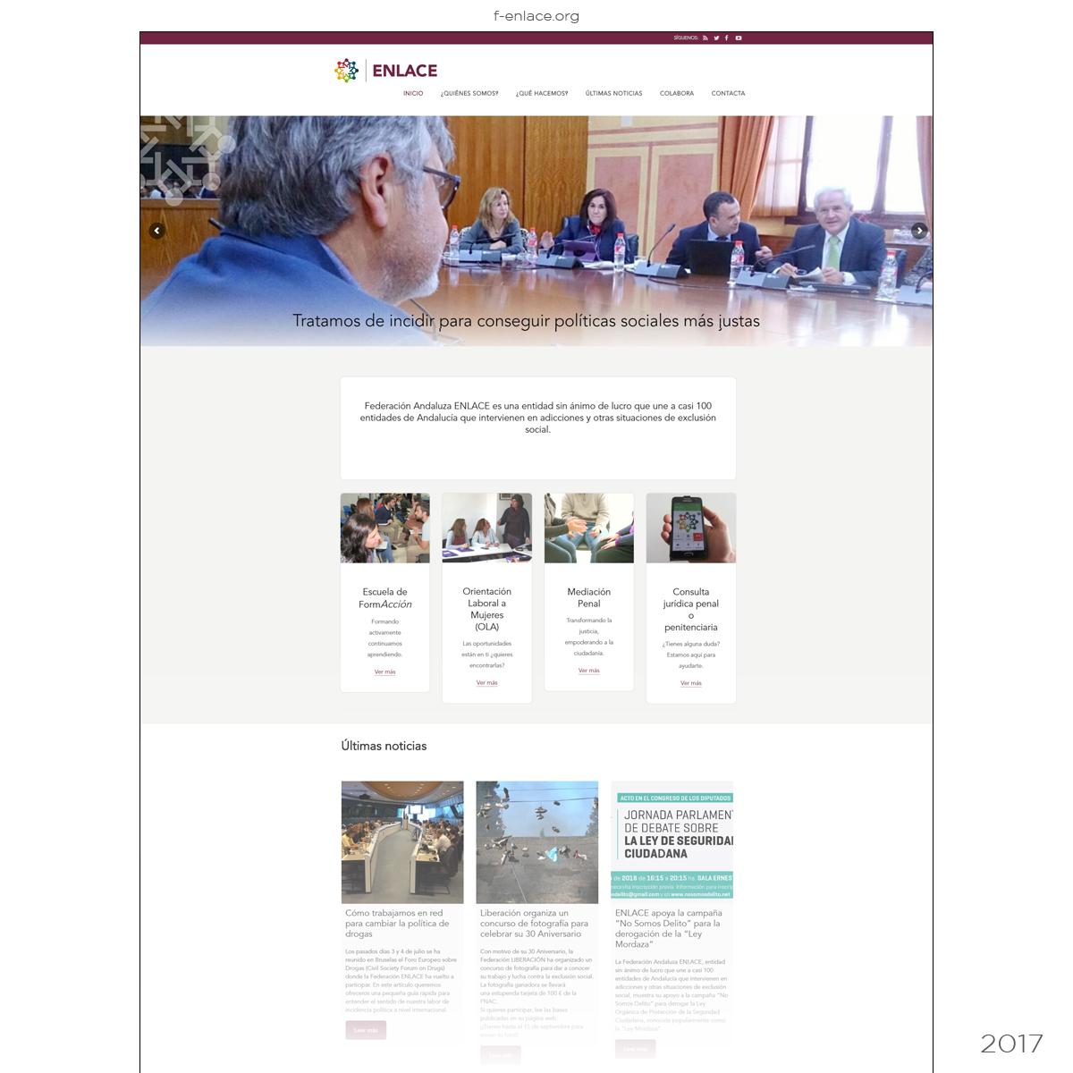 Página Web Federación de Asociaciones
