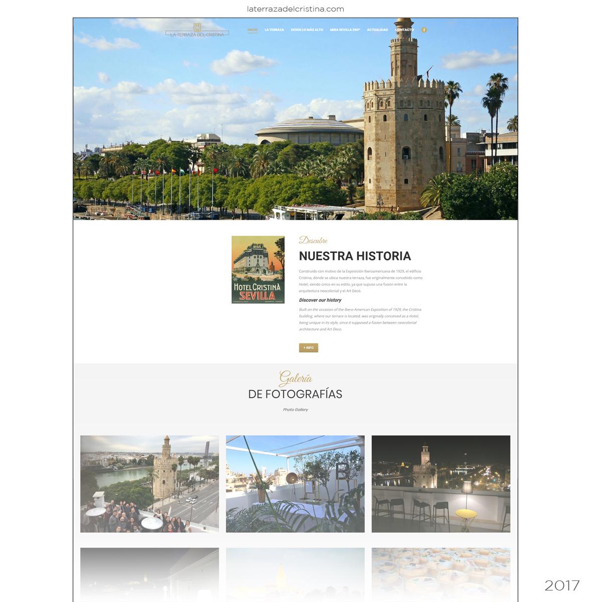 Página web Hostelería