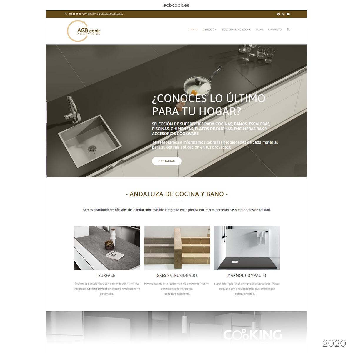 Página web estudio de cocinas