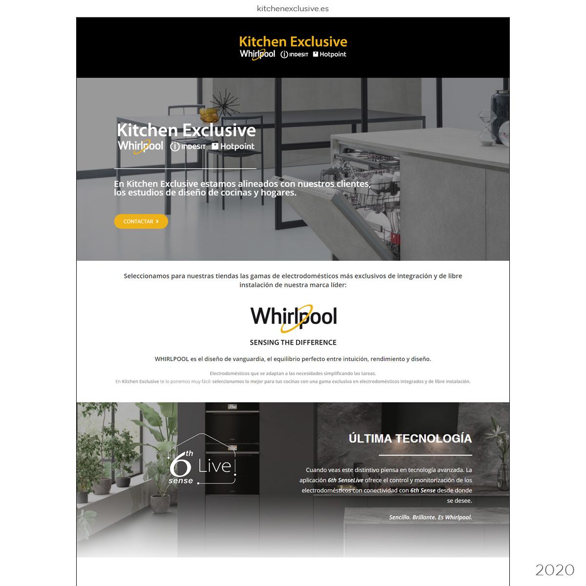 Sitio web Distribuidora de Electrodomésticos